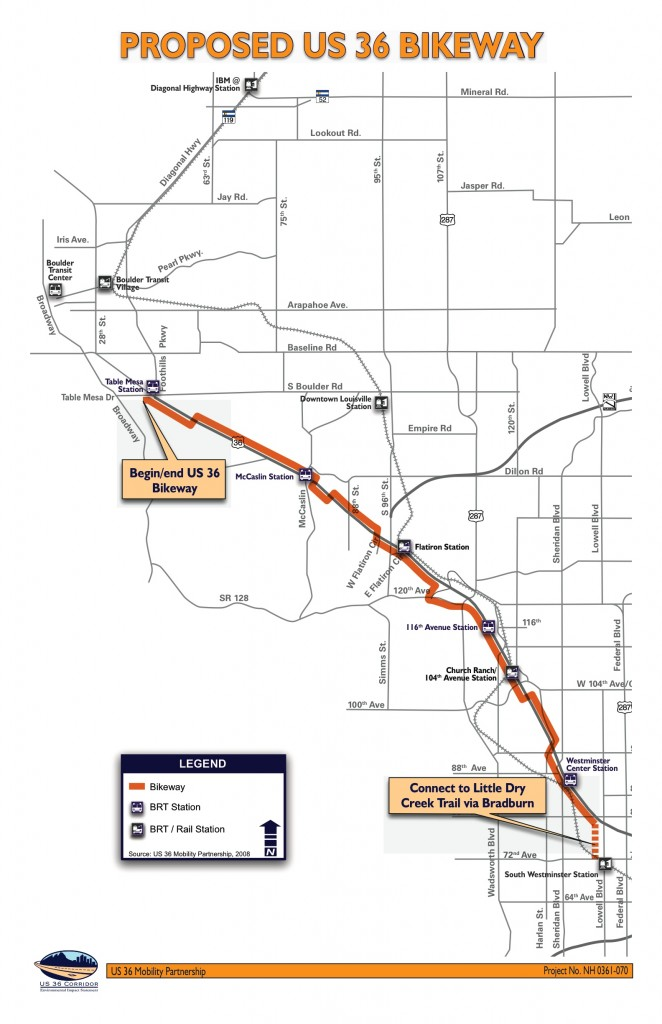 The Proposed US-36 Bikeway.