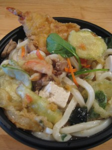 Shrimp and Chicken Ginger Udon