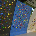 The angle of these three walls can be adjusted by the climber!