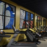 The workout room at Earth Treks in Golden