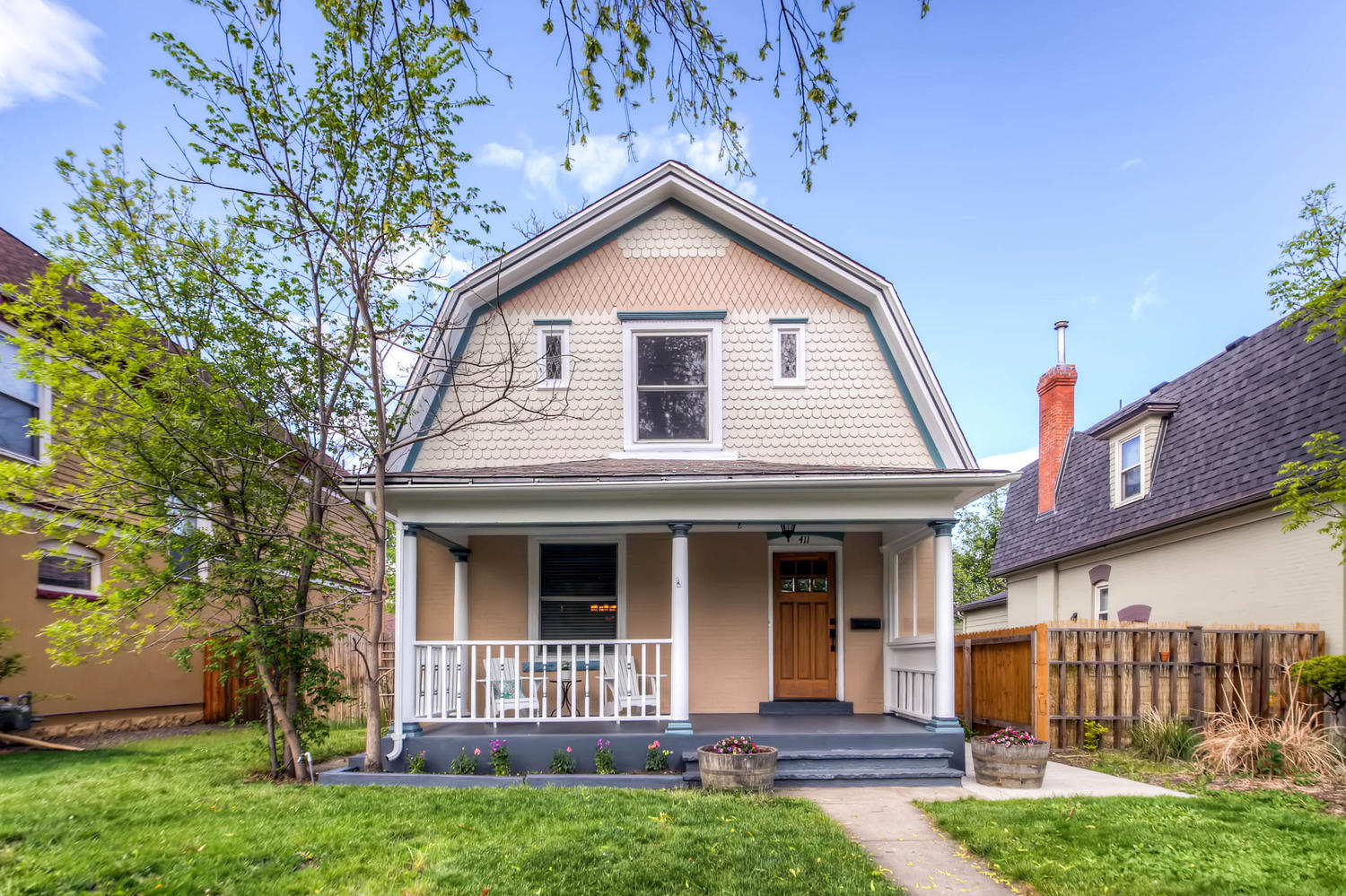 This Denver home listed by David Schlichter went under contract in one day for cash above the asking price and closed this month.