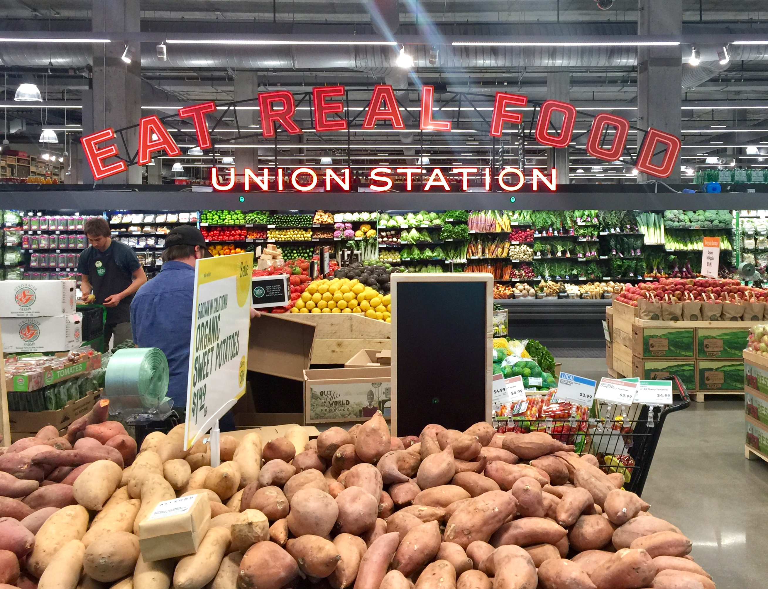 New Downtown Whole Foods: Lookin' Good! | The Good Life Denver